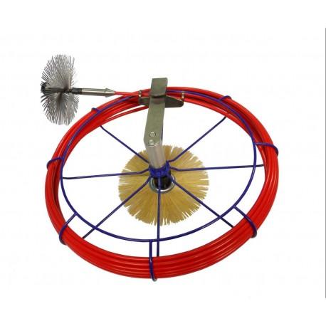 Ruční naviják - GFK-tyč - ø 7 mm, délka 15 m