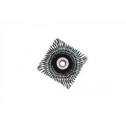 Sluníčko z ocel. drátu  450x450 mm s otvorem  ø 28 mm