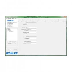 PC-software Wöhler DC 4xx, DP 600
