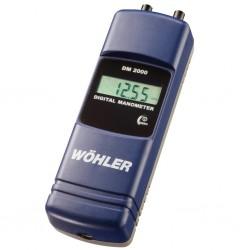 Digitální manometr (měření tahu komína) DM 2000 v mbar