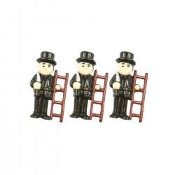Figurka – kominíček, balení 144 ks, výška 2 cm