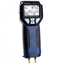 Wöhler DC 410Flow – měření jemných tlaků - 4 Pa test