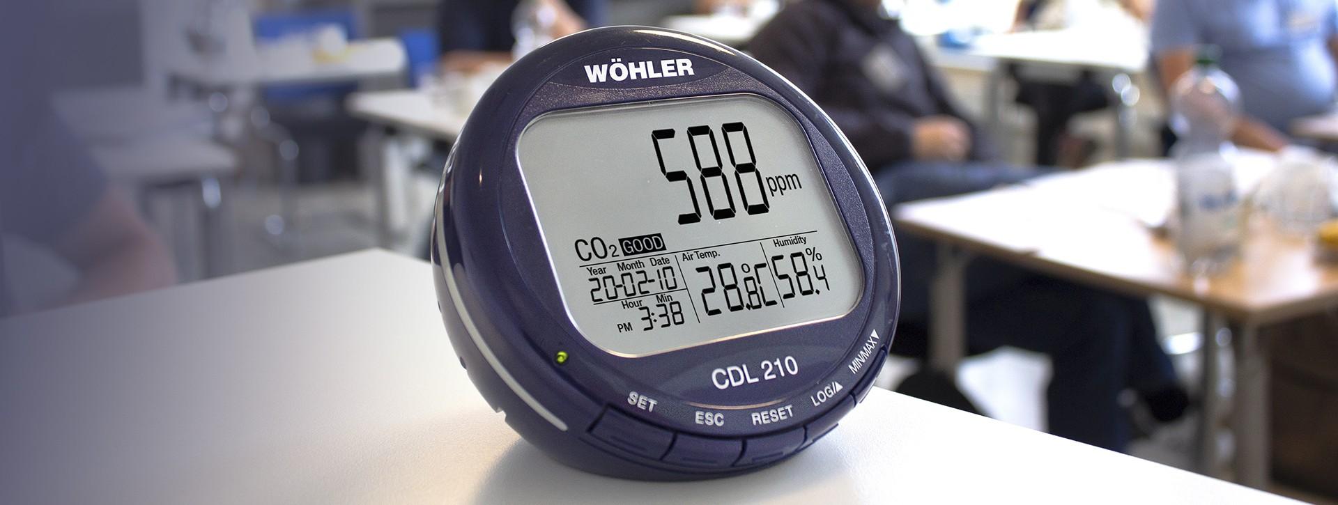 Měření oxidu uhličitého